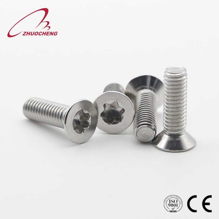 Stainless steel Carbon steel Torx drive <strong>screw</strong> with various head