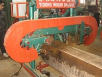 Timber sawing sawmill for cutting wood