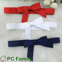 Gift Grosgrain Ribbon Packing Bow with elastic loop