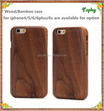 Cheap Funny walnut Wooden Wholesale Cell Phone Accessories In China For Iphone6 Case