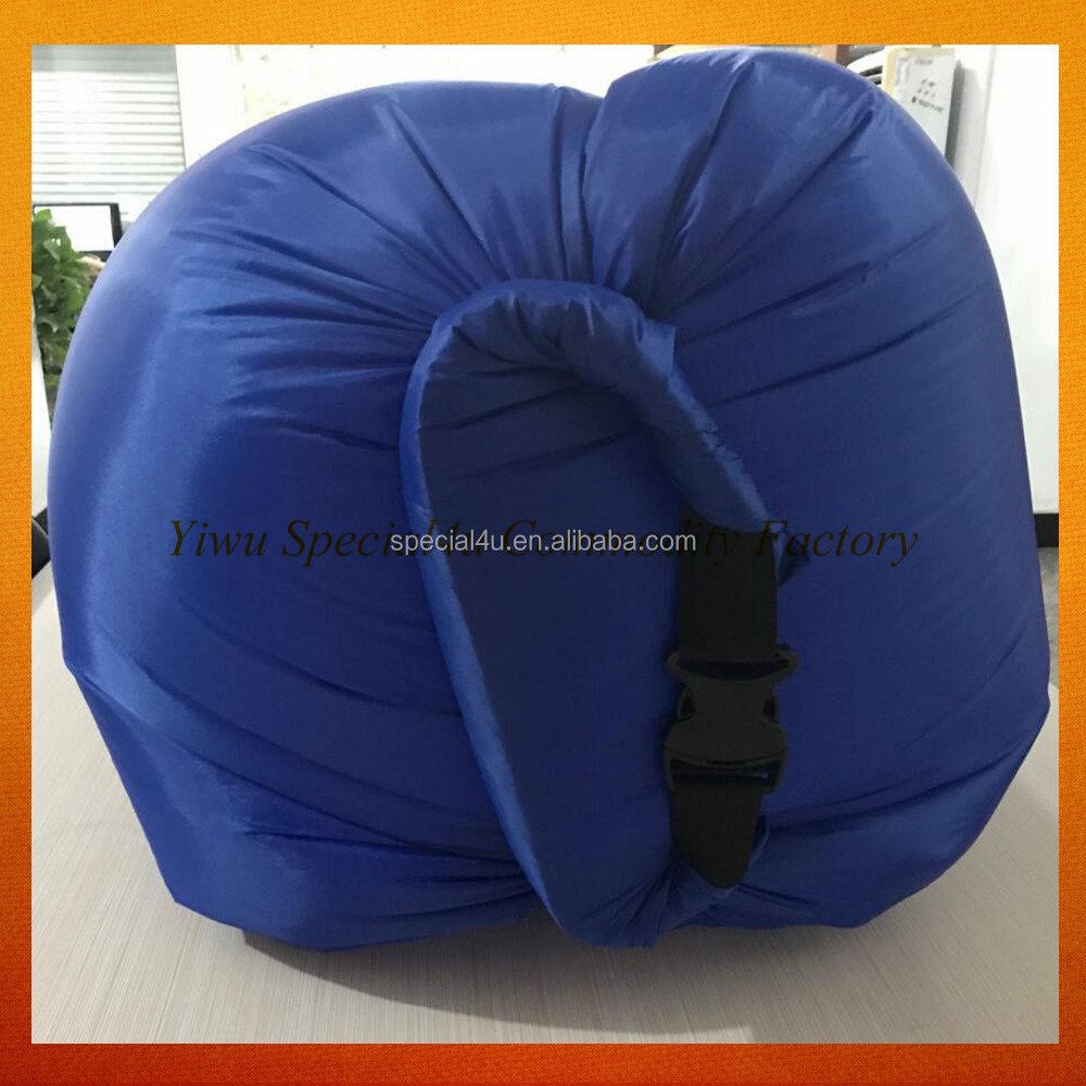 OEM logo customized inflatable beach lounger outdoor sun lounger cushion people lounger sofa SPEC-117