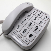 Big button telephone for elders