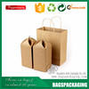 Factory customized portable wine bottle paper tote boxes