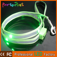 retractable dog leash with flashlight and bag