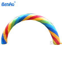 R015 Hot sale advertising Inflatable Rainbow Archway/inflatable tire advertising,inflatable arch rental