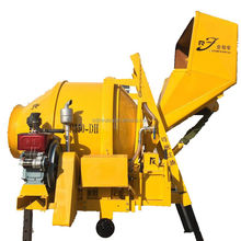 Diesel Hydraulic Concrete Mixer Portable JZR350 Used Reversaling Hopper concrete mixers with hopper