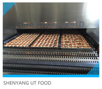 UT Food New Condition Bakery Equipment Food Standard Stainless Steel Industrial Hamburger Bread Toast Gas Tunnel Oven