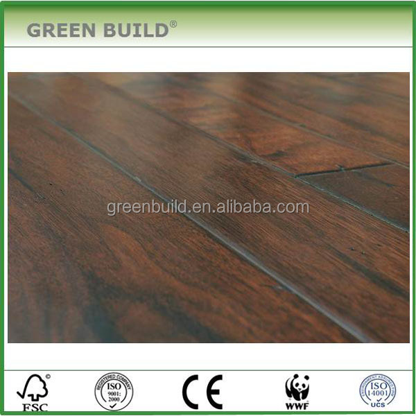 Handscraped American Walnut Antique Engineered Hardwood <strong>Flooring</strong>