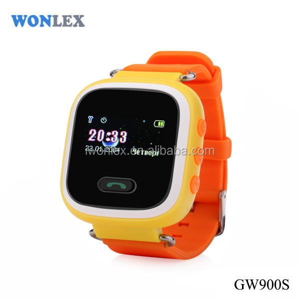 Wholesale and retail kids gps watch WONLEX gw900s watch phone android wifi gps