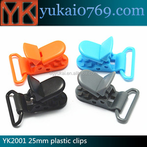 Popular plastic locking clip,plastic mounting clip,plastic toy clips