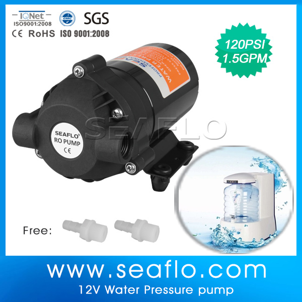 24V Water Pressure Booster Diaphragm Pump for Drinking Water