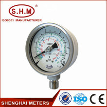 Good quality refrigeration low pressure gauge