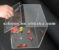 Acrylic Candy Display Box/ Acrylic Candy Dispenser Box/ Acrylic Sweet Container