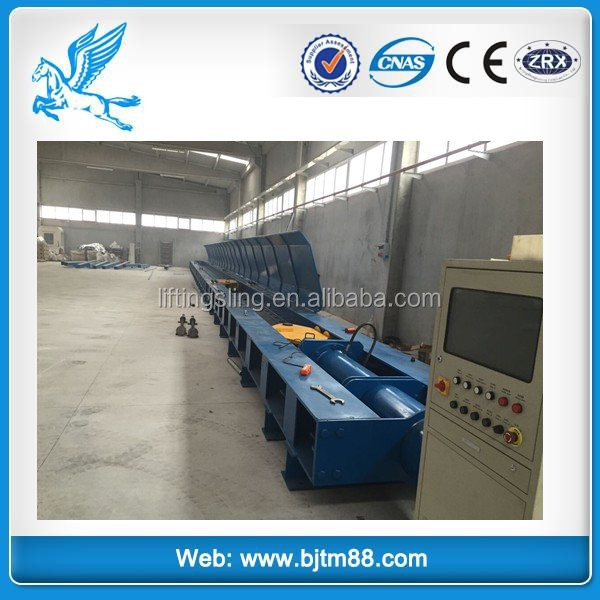 power cable horizontal tensile testing machine, ce 1000t 2000t anchor chain testing machine horizontal tensile test bed