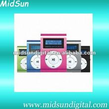 2012 mp3 digital player with built in speaker with FM Radio