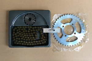 JIALING JH70 DY100 Motorcycle Chain With Front Rear Sprocket