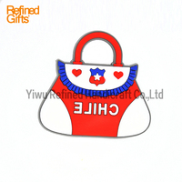 Cute Bag PVC Rubber 2D or 3D Soft Mini Fridge Magnets Lovely promotion gifts