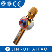 Hecho en china Bluetooth Wireless Mini Pocket Micrófono Karaoke Eco