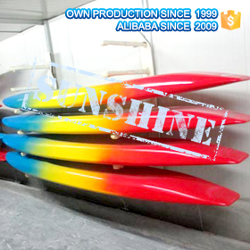 Colorful Painting Rescue Surfboard For Surfing Life Saving