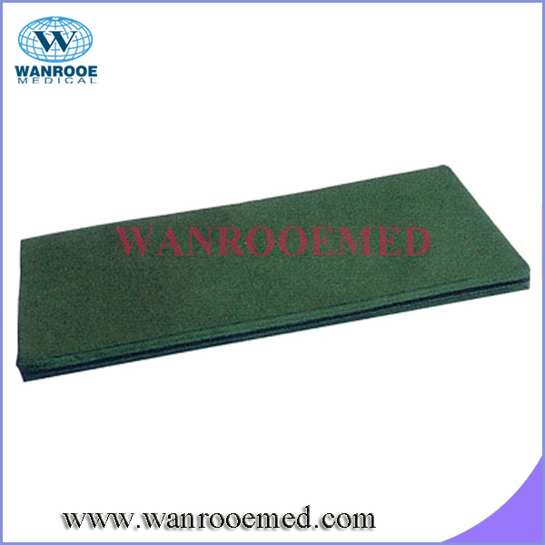 8cm thickness PU waterproof single foam hospital mattress for Hospital Orthopaedics Bed