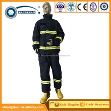 2017 Hot Selling RINA Approved Nomex fire fighting suit with EN 469