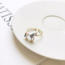 2018 New Arrivals S925 Sterling Silver Ring,Unicorn Shape Silver Jewelry