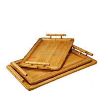Wholesale Cheap Unfinished Handmade Hotel Wood Sushi Tray And Dinner Plate With Custom Printed Logo For Fruits