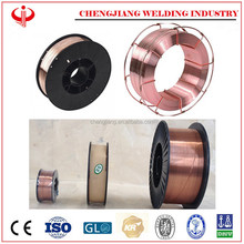 China supply co2 gas shield weld wire, mig mag weld wire sg2 er70s-6