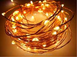 color changing outdoor christmas led string lights ultra thin wire string light copper wire led string light
