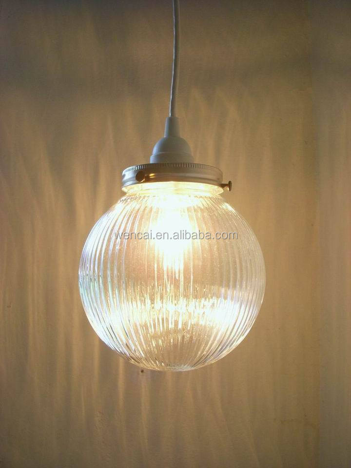 hot sale high quality hanging glass ball light