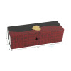 custom hot stamp gift luxury packaging wine boxes