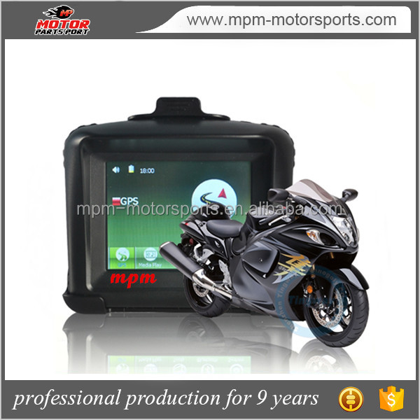 4.3 Inch IPX7 Waterproof Motorcycle&Car GPS Navigation - Bluetooth+ Latest 2016 Maps