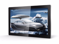 Table WIFI/LAN/3G Network Wall Mount SAMSUNG Panel Touch Screen Dispaly Advertisement Machine