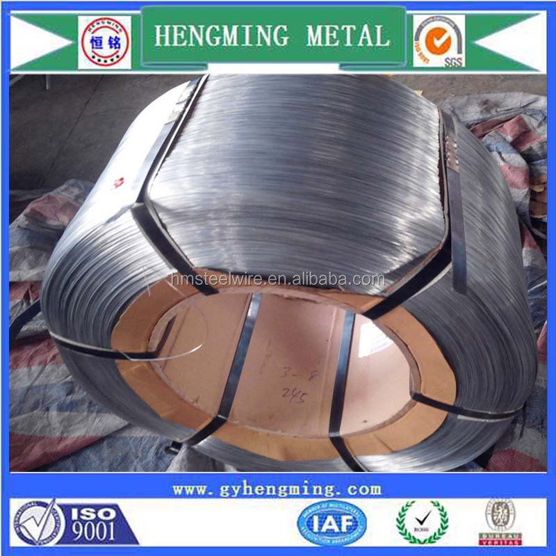 factory direct 22 gauge galvanized wire for woven mesh