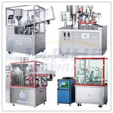 plastic tube filling and sealing machine, toothpaste tube filing machine, semi automatic sealing machine