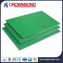 Good quality custom stainless steel acp panel,stainless steel aluminum composite panel