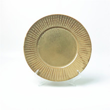 Eco-Friendly China Wholesale ceramic dish porcelain <strong>plate</strong> terracotta kitchenware round platter