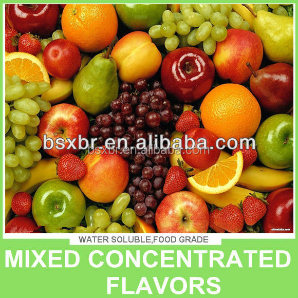 Flavor Concentrate Mixed Fruit e liquid for flavoring
