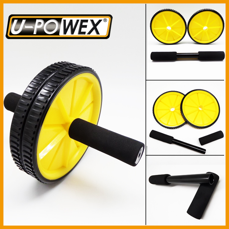 Outdoor fitness equipment pilates abdominal exercise core exercise wheel