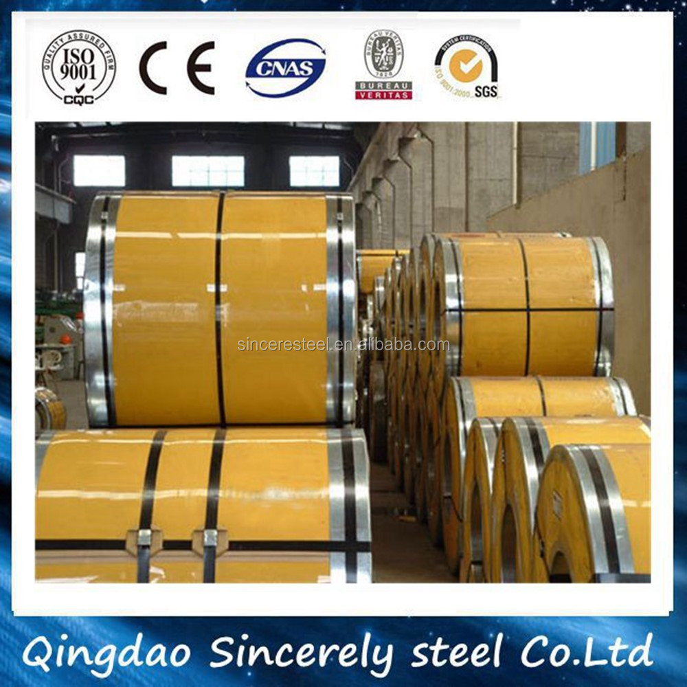 DX51D cheap ppgi prepainted galvanized steel coil from shandong with low price