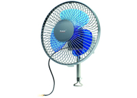 "6"" Oscillating Full safety metal guard 12/24V car fan"