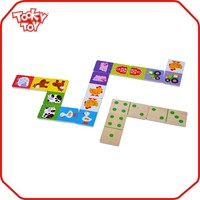 New style promotional wood domino game