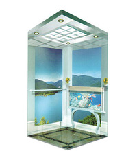 Glass elevator products for small home use