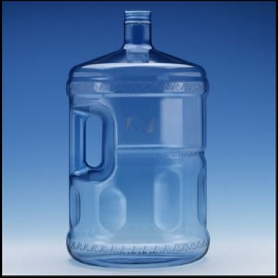 5 gallon pc water bottle with handle - 5 Gallon Water Bottles