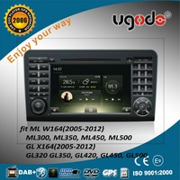 Factory 2 din android 4.4 /5.0 car audio video for ML class ML350 with GPS mp3 player 2005-2013