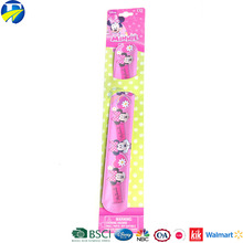 2017 FJ brand Minnie Mouse jewelry hockey gifts kids bracelets and magic ruler slap band bracelets for children