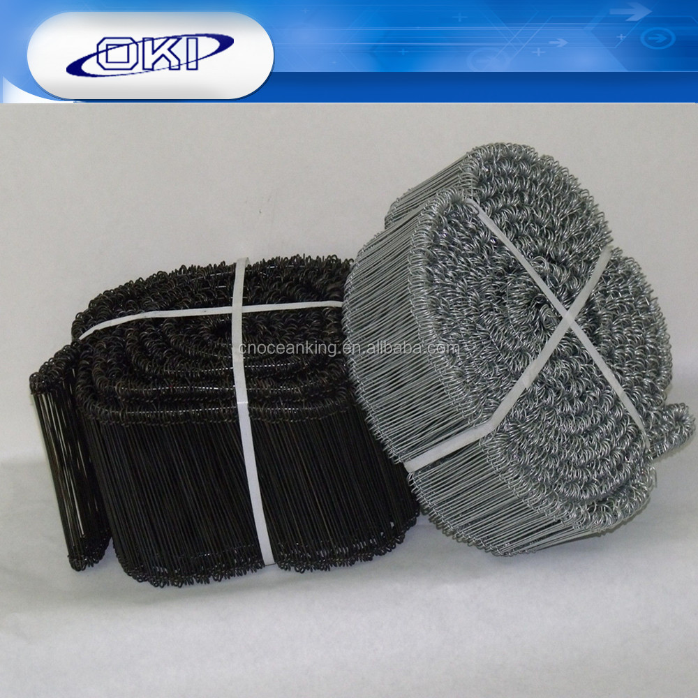 High Quality Low Price Oil Painted Black Annealedloop tie wire
