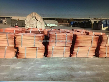 Copper Cathodes 99.99% Purity with High Quality