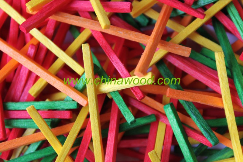 Wooden Match Sticks for kids craft DIY project