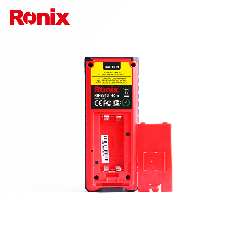 Ronix March EXPO RH-9340 Precision Portable Laser Distance Meter 40m Electric Laser Distance Meter